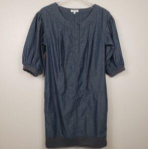 GENERRA for Anthropologie Chambray Mini Dress